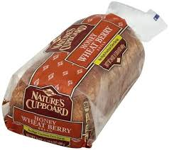 Natures Cupboard Honey Wheat Berry Bread 24 Oz Nutrition