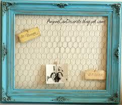 frame paint glaze en wire stunning memo board