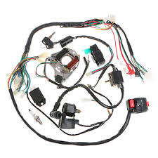 110cc atv 50 70 90 110cc cdi wire harness assembly wiring set atv electric quad