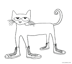 Detailed Cat Coloring Pages At Free Printable For Pictures To Color