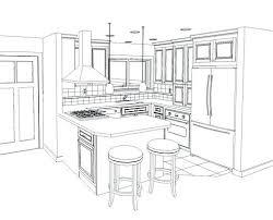 kitchen drawing kitchen pencil sketches google search free kitchen countertop drawing tool