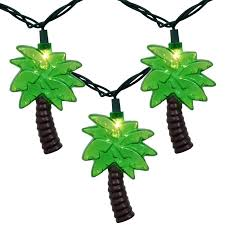 palm tree light outdoor palm tree party string lights bel air lighting 3 light palm tree