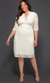 Beautiful plus size winter wedding dress ideas Long Sleeve 1950s Plus Size Dresses Clothing And Costumes Luxe Lace Wedding Dress Ivory Womens Plus Size You And Your Wedding 1950s Plus Size Dresses Clothing And Costumes