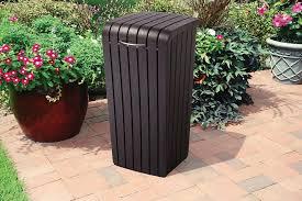 outdoor patio trash bin quality