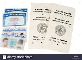 Passport States white United Permit Stock Photo Card Alamy - Reenter 175458176 To Green The
