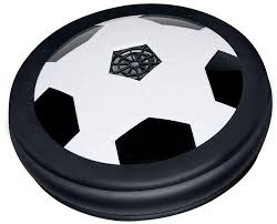 Light Up Ball Game Air Power Soccer Football Hover Ball Game With Foam Bumpers