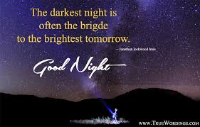 Inspirational Good Night Quotes Stunning Inspirational Good Night Images With Quotes Sleep Better After
