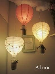diy room lighting ideas. DIY Hot Air Balloon Lamps Diy Room Lighting Ideas 7