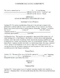 sublease contract template commercial space rental agreement template space lease agreement