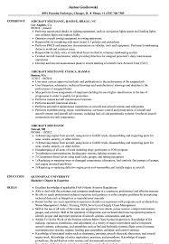 Aircraft Mechanic Resume Examples Aircraft Mechanic Resume Samples Velvet Jobs