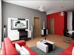 Living Room With Red Sofa Red Sofa Living Room Houzz House Decor