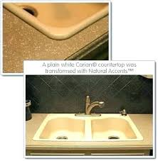 corian countertops cleaning white