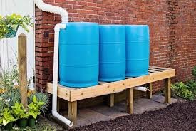 how to install a rain barrel system
