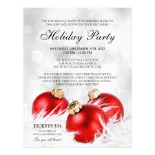 Work Christmas Party Flyers Business Christmas Flyers Holiday Party Flyer Zazzle Com
