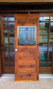 stained glass pantry door