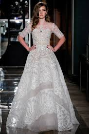 appropriate dress for wedding. you\u0027ll probably want to choose something church-appropriate (no plunging necklines or illusion panels, please!). this lovely lace wedding dress by reem acra appropriate for