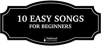 Guitar Chords Chart For Beginners Songs 10 Easy Songs On Guitar National Guitar Academy