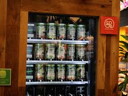 Lunch Vending Machines Gorgeous Lunch In The Loop Get Your Next Salad At The Farmer's Fridge