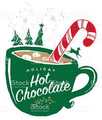hot chocolate christmas clip art. Contemporary Hot Holiday Hot Chocolate With Mug Greeting Design Royaltyfree Holiday Hot  Chocolate And Christmas Clip Art O