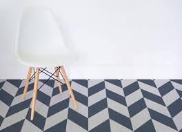 arrow chevron vinyl flooring blue room flooring