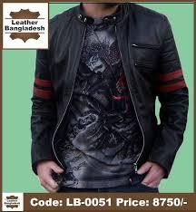 biker desh smart look pure leather jacket