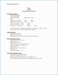 Resume Templates Free For High School Students Elegant 14 New Sample