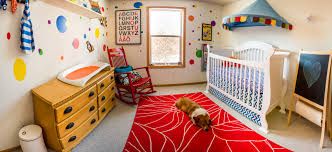 7/7; Colorful Baby Nursery