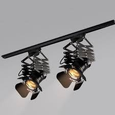 vintage track lighting. Vintage Track Lighting Fixture Loft RH Rural Industrial Lift Ceiling Lamp  Bar Clothing Retro Absorb Dome Light Without E27 Bulb Vintage Track Lighting S