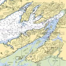 Alaska Nautical Charts Alaska Cordova Nautical Chart Decor