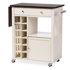 Built In Wine Racks Kitchen Kitchen Carts Kitchen Cart With Hidden Wheels White Hollywood