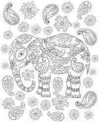 free elephant coloring page for s coloring book