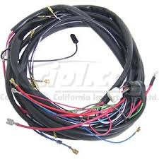 1974 vw beetle complete wiring harness 1974 image c17 wm 111 1974 main wiring harness from engine comp to fuse box on 1974 vw