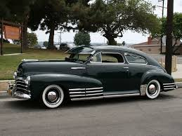Chevrolet Fleetline Coupe | Fine Old 1940's & 50's Cars ...