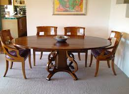 Featured Photo of Oval Shaped Dining Table Designs