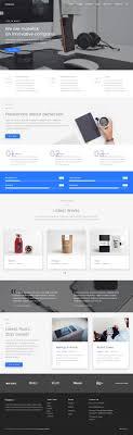 Material Design Website Template 30 Best Responsive Material Design Templates Html5 2019