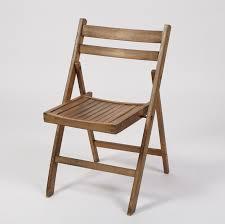 Padded Folding Chairs Wood