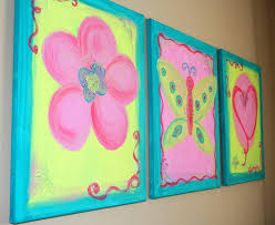 image of three canvas painting ideas