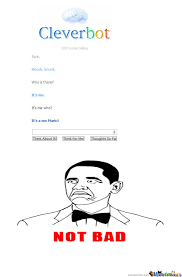 Cleverbot Knock Knock Joke by frilly - Meme Center via Relatably.com