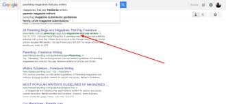 how to use google to endless lance writing opportunities using google to writing opportunities