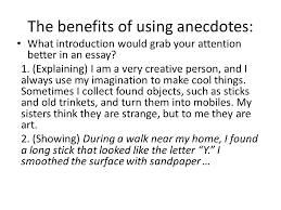 how to effectively integrate anecdotes into your writing ppt 8 the
