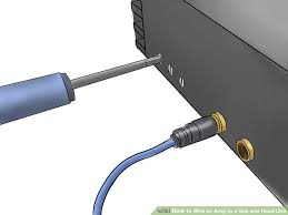 how to wire an amp to a sub and head unit steps image titled wire an amp to a sub and head unit step 11