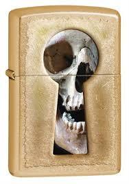 <b>Зажигалка Zippo Keyhole</b> Skull 28540