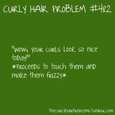 The struggle is real ~ Curly Hair on Pinterest | Curly Hair ... via Relatably.com