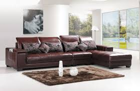 Create Wonderful Modern Living Room Interior Design with L Shaped