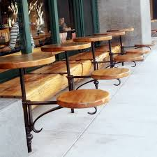 cafe tables and chairs public works commercial coffee sho