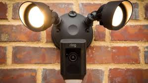 Flood Light Security Camera Wireless Beauteous Ring Floodlight Cam Keeps Watch When You Can't CNET