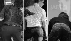 SUPERNATURAL Misha Collins & Jensen Ackles & Jared Padalecki ...