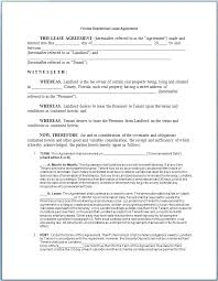 Free Printable Lease Agreement For Renting A House New Home Rental ...