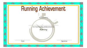 Fun Run Certificate Template Editable Running Certificate Paddle At The Point