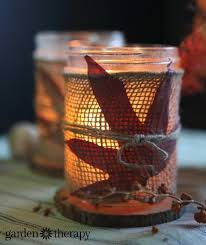 Fall Table Decorations With Mason Jars FallInspired Mason Jar Crafts Perfect For Your Thanksgiving Table 15